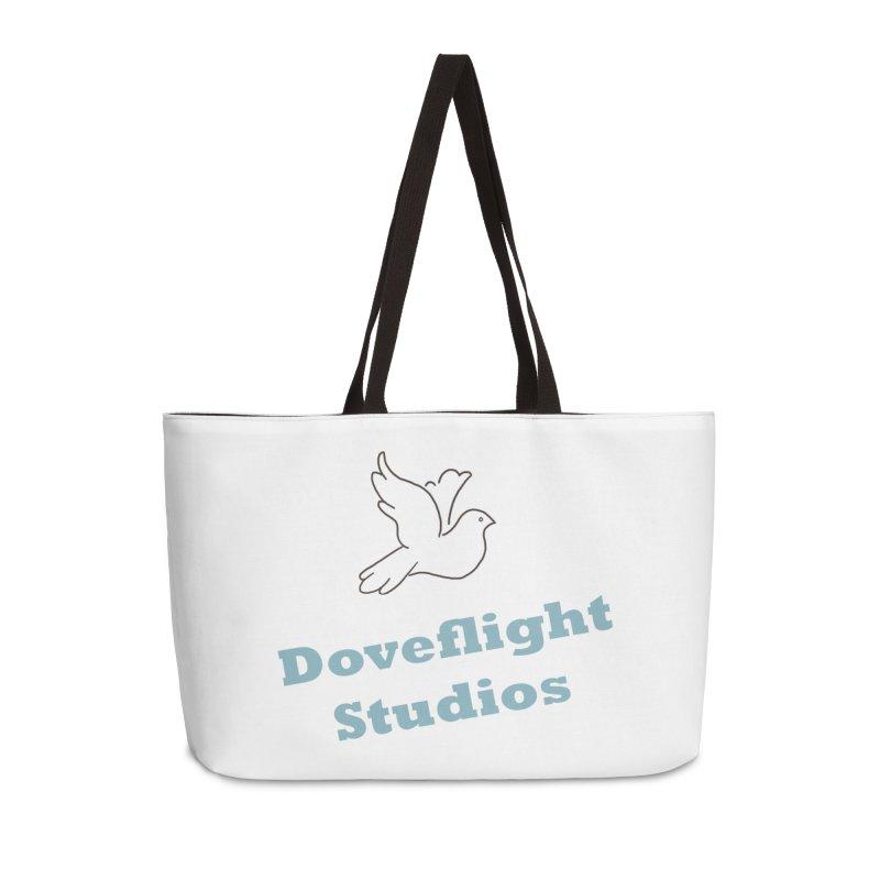 Doveflight Studios Official Logo Accessories Weekender Bag Bag by Dove's Flight