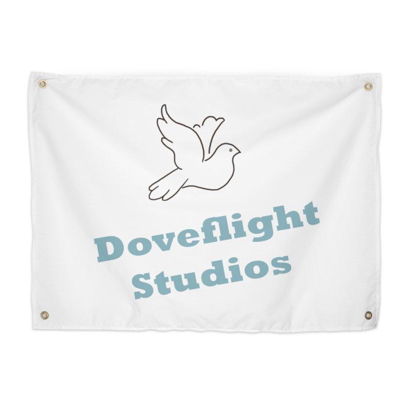Doveflight Studios Official Logo Home Tapestry by Dove's Flight