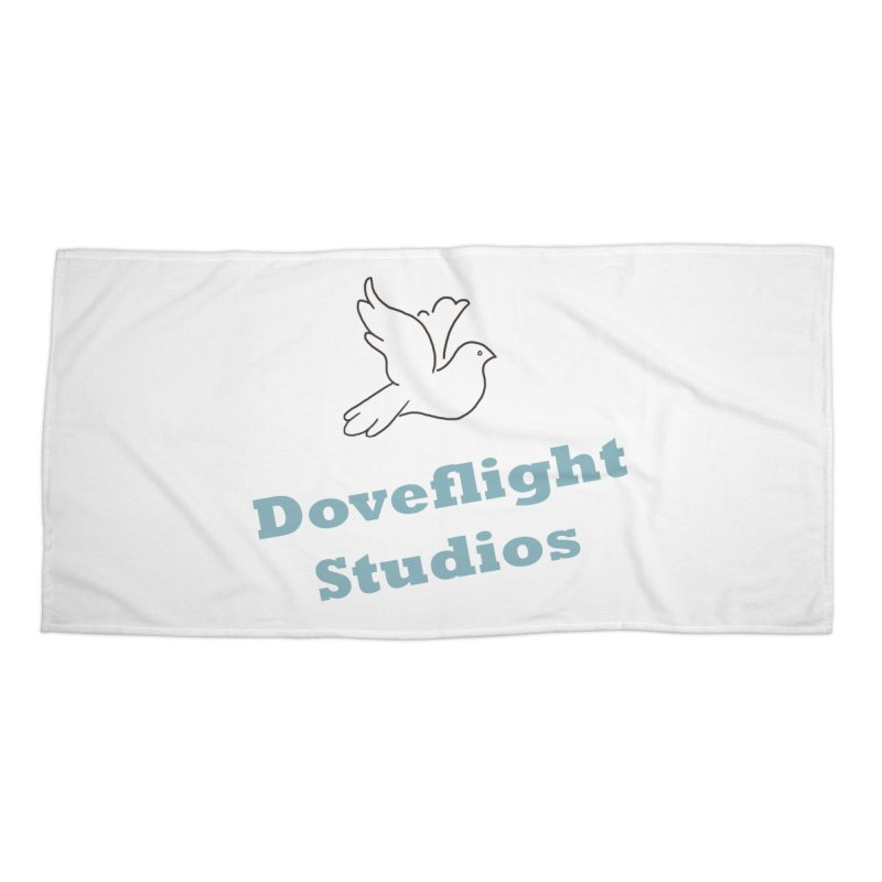 Doveflight Studios Official Logo Accessories Beach Towel by Dove's Flight