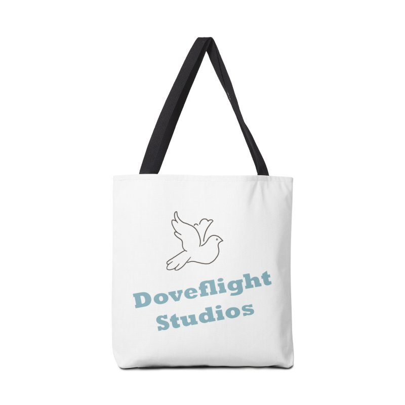 Doveflight Studios Official Logo Accessories Tote Bag Bag by Dove's Flight