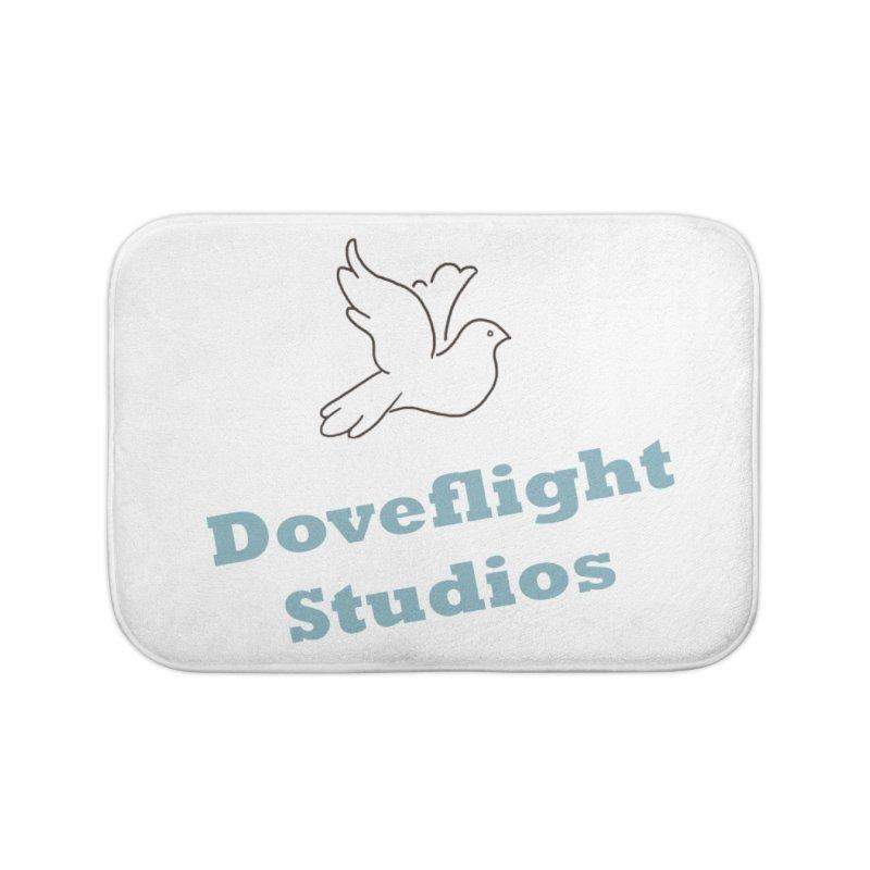Doveflight Studios Official Logo Home Bath Mat by Dove's Flight