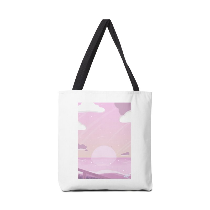 Evening by the Shore Accessories Tote Bag Bag by Dove's Flight
