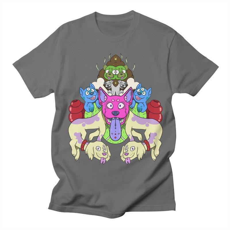 Dog Party! Men's T-Shirt by DownwardDogs's Artist Shop