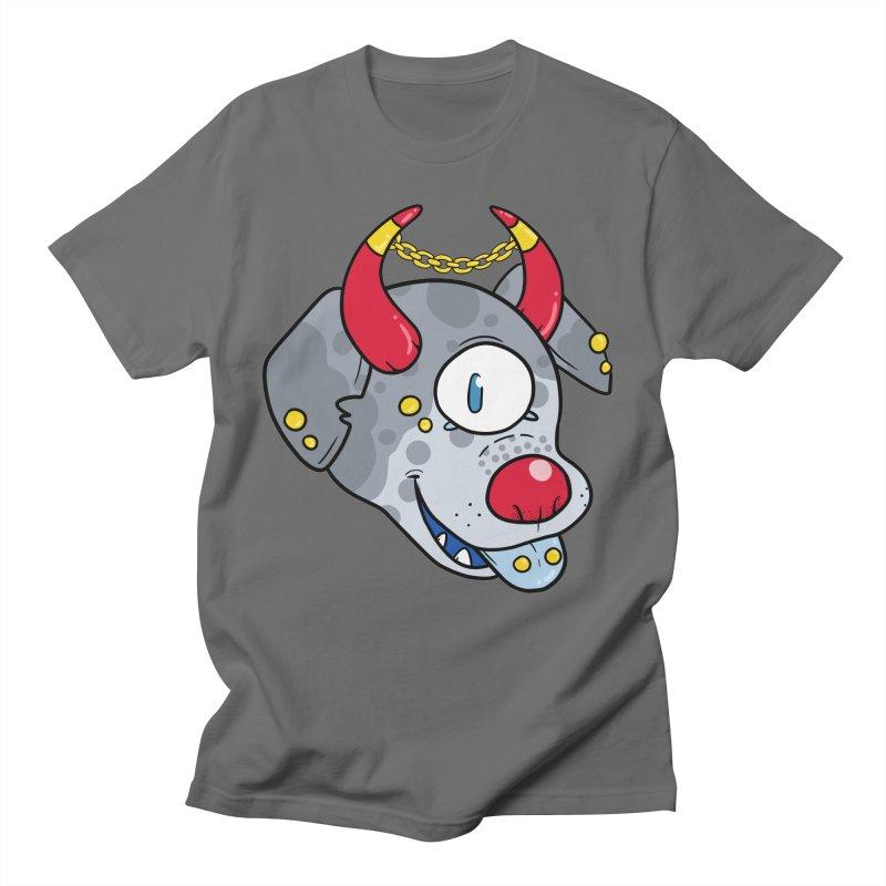 Devil Dog Men's T-Shirt by DownwardDogs's Artist Shop