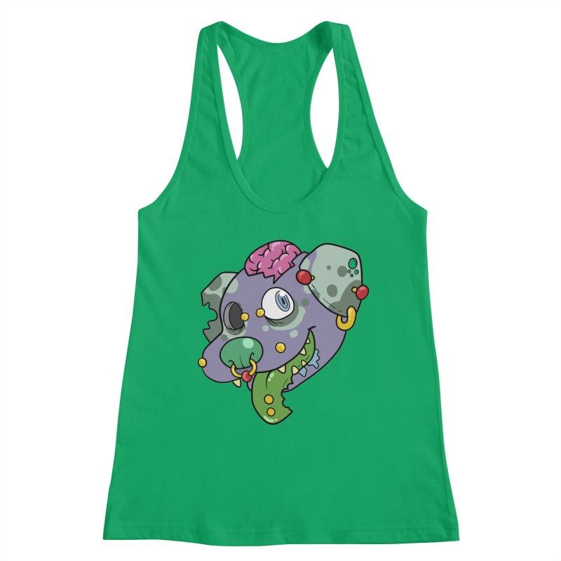 Undead Best Friend Women's Tank by DownwardDogs's Artist Shop
