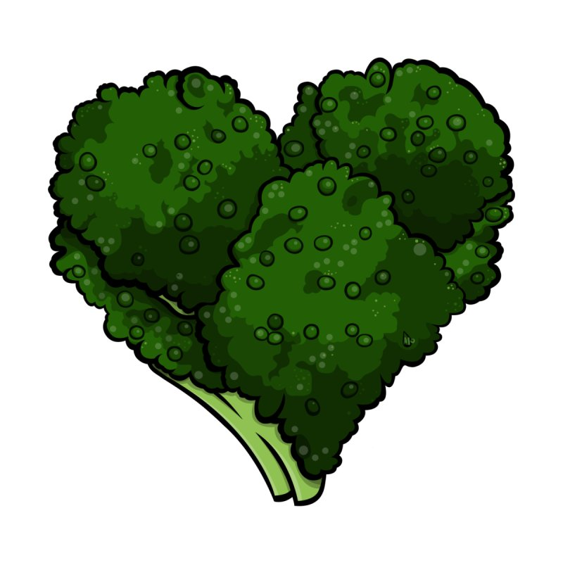 Broccoli Love by DrDmo's Artist Shop