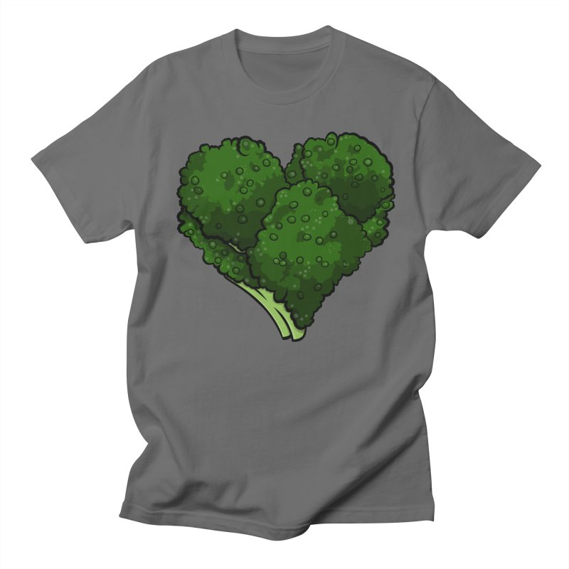 Broccoli Love Men's T-Shirt by DrDmo's Artist Shop