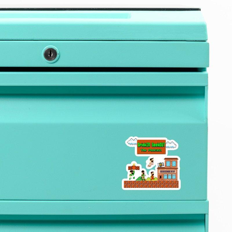 Super DiGo Bros. (no fill) Accessories Magnet by DrinkIN GeekOUT's Artist Shop