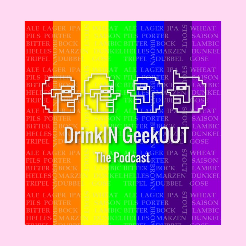 Pride Geeks Home Stretched Canvas by DrinkIN GeekOUT's Artist Shop