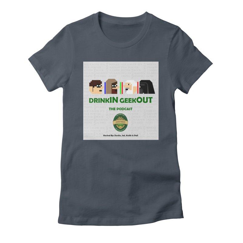 Jedi Heads Women's T-Shirt by DrinkIN GeekOUT's Artist Shop