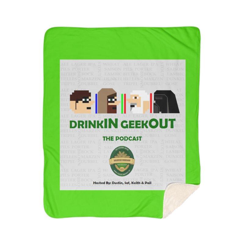 Jedi Heads Home Sherpa Blanket Blanket by DrinkIN GeekOUT's Artist Shop