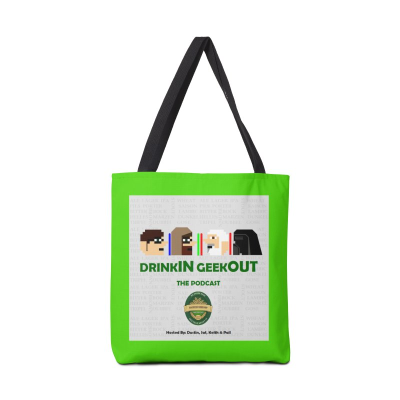 Jedi Heads Accessories Tote Bag Bag by DrinkIN GeekOUT's Artist Shop