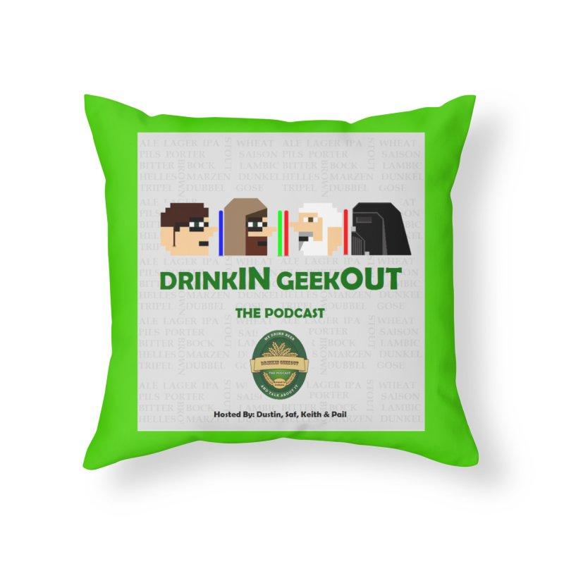 Jedi Heads Home Throw Pillow by DrinkIN GeekOUT's Artist Shop