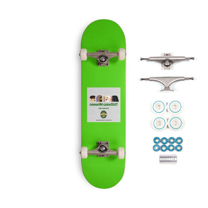 Jedi Heads Accessories Skateboard by DrinkIN GeekOUT's Artist Shop