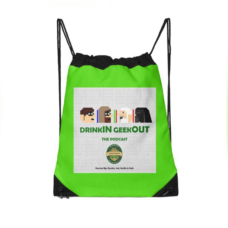 Jedi Heads Accessories Bag by DrinkIN GeekOUT's Artist Shop