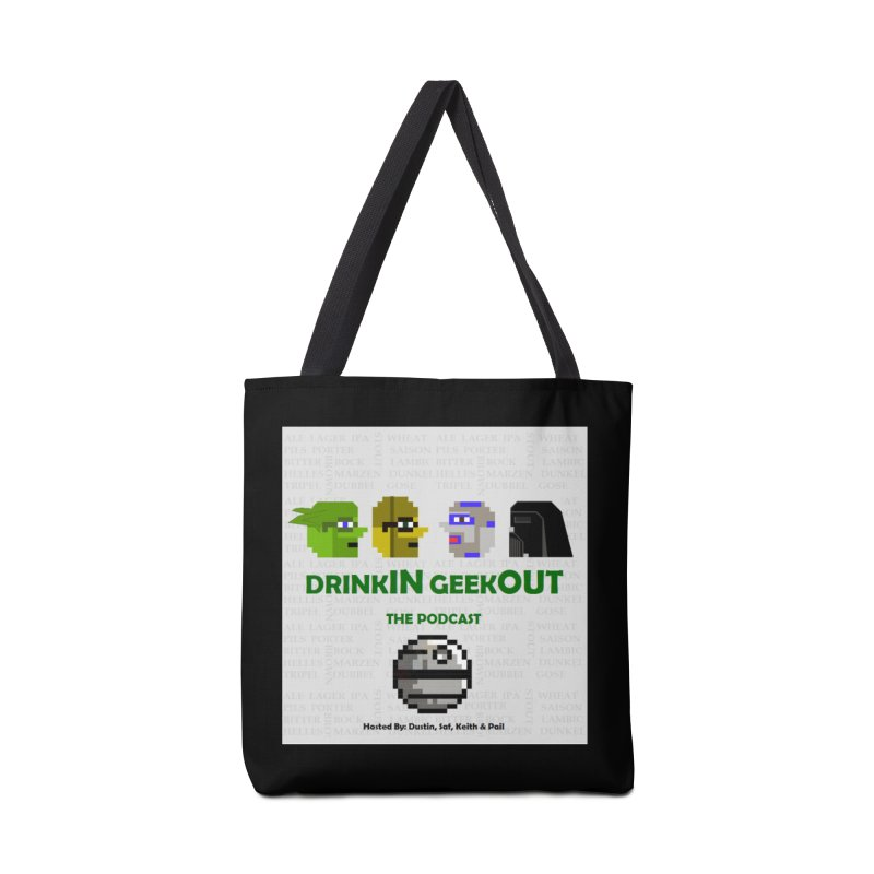 Star Wars Heads Accessories Tote Bag Bag by DrinkIN GeekOUT's Artist Shop
