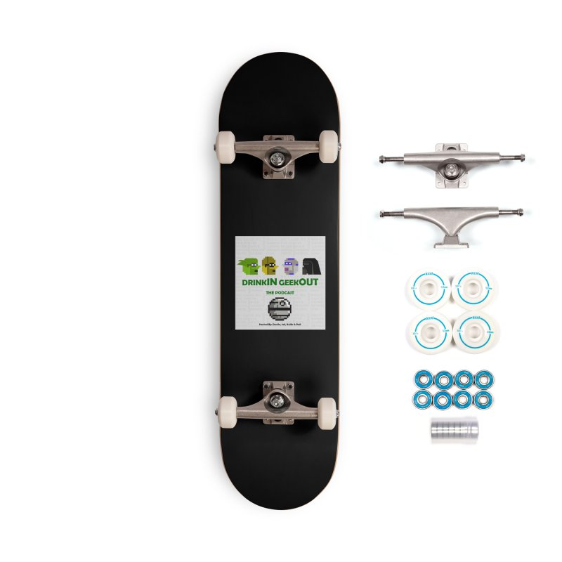 Star Wars Heads Accessories Complete - Basic Skateboard by DrinkIN GeekOUT's Artist Shop