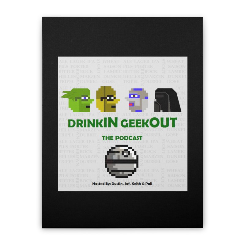 Star Wars Heads Home Stretched Canvas by DrinkIN GeekOUT's Artist Shop