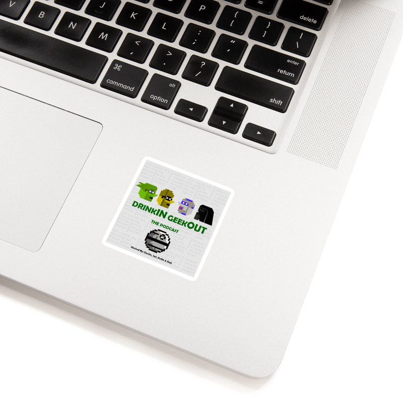 Star Wars Heads Accessories Sticker by DrinkIN GeekOUT's Artist Shop