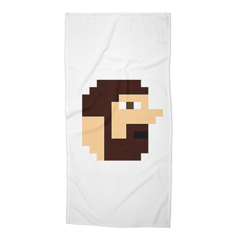 Keith Accessories Beach Towel by DrinkIN GeekOUT's Artist Shop