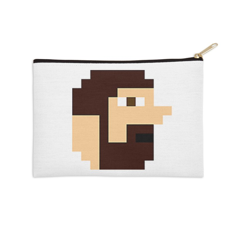 Keith Accessories Zip Pouch by DrinkIN GeekOUT's Artist Shop