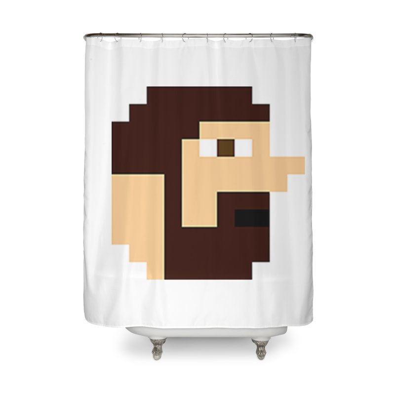 Keith Home Shower Curtain by DrinkIN GeekOUT's Artist Shop
