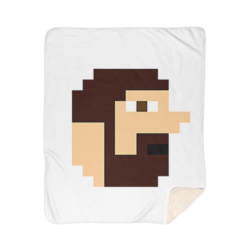 Keith Home Sherpa Blanket Blanket by DrinkIN GeekOUT's Artist Shop