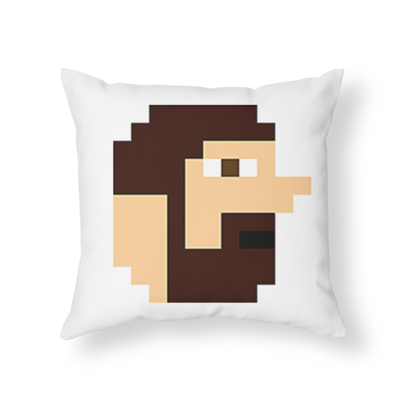 Keith Home Throw Pillow by DrinkIN GeekOUT's Artist Shop