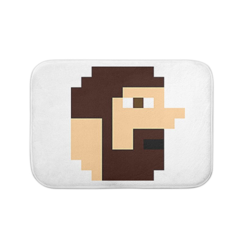 Keith Home Bath Mat by DrinkIN GeekOUT's Artist Shop