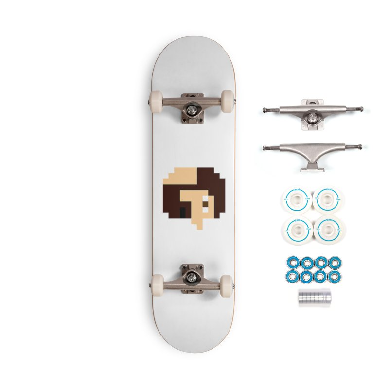 Keith Accessories Complete - Basic Skateboard by DrinkIN GeekOUT's Artist Shop