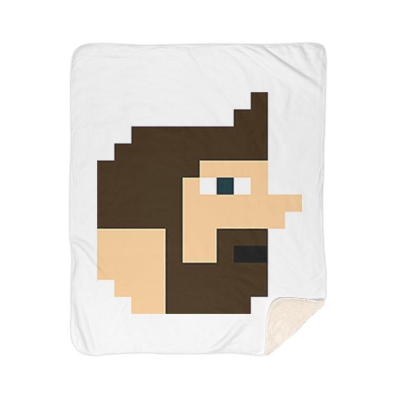 Pail Home Sherpa Blanket Blanket by DrinkIN GeekOUT's Artist Shop