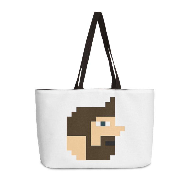 Pail Accessories Weekender Bag Bag by DrinkIN GeekOUT's Artist Shop