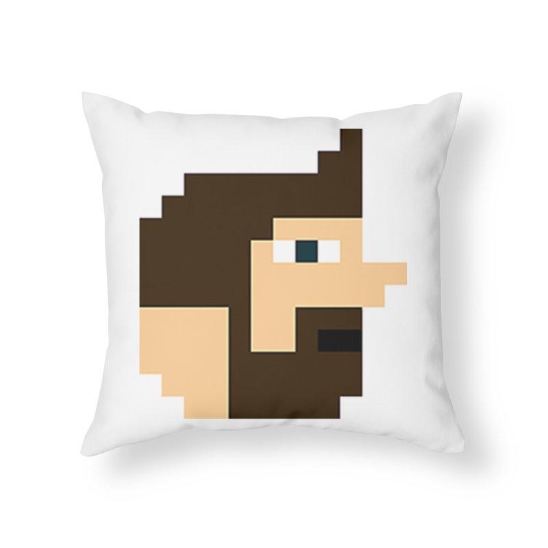 Pail Home Throw Pillow by DrinkIN GeekOUT's Artist Shop