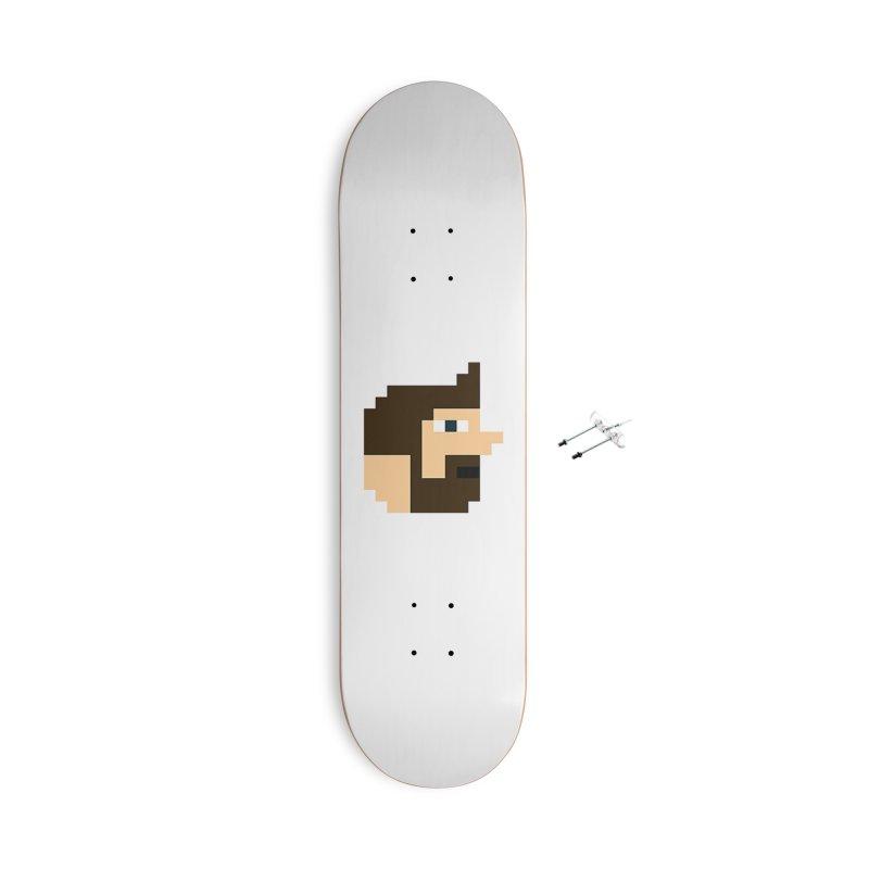 Pail Accessories Skateboard by DrinkIN GeekOUT's Artist Shop