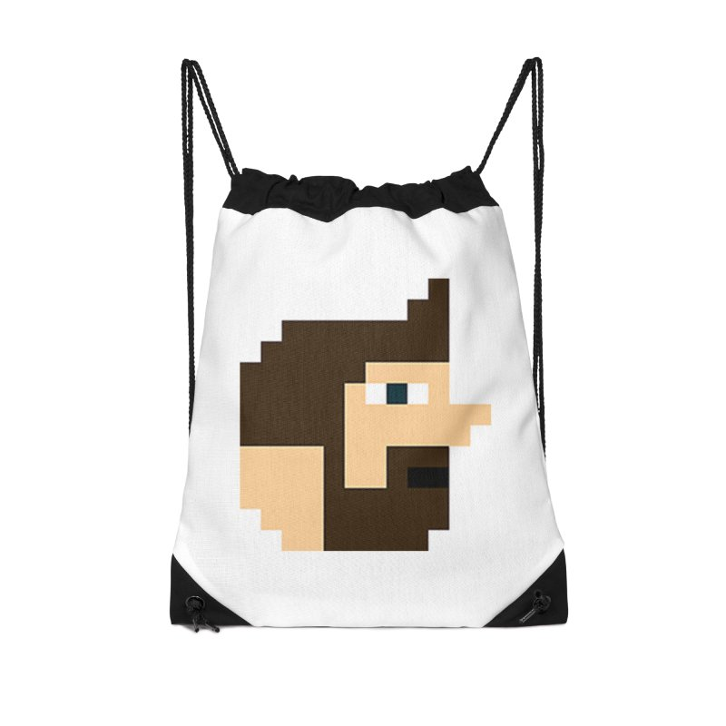 Pail Accessories Drawstring Bag Bag by DrinkIN GeekOUT's Artist Shop