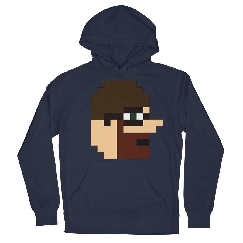 Saf Men's French Terry Pullover Hoody by DrinkIN GeekOUT's Artist Shop