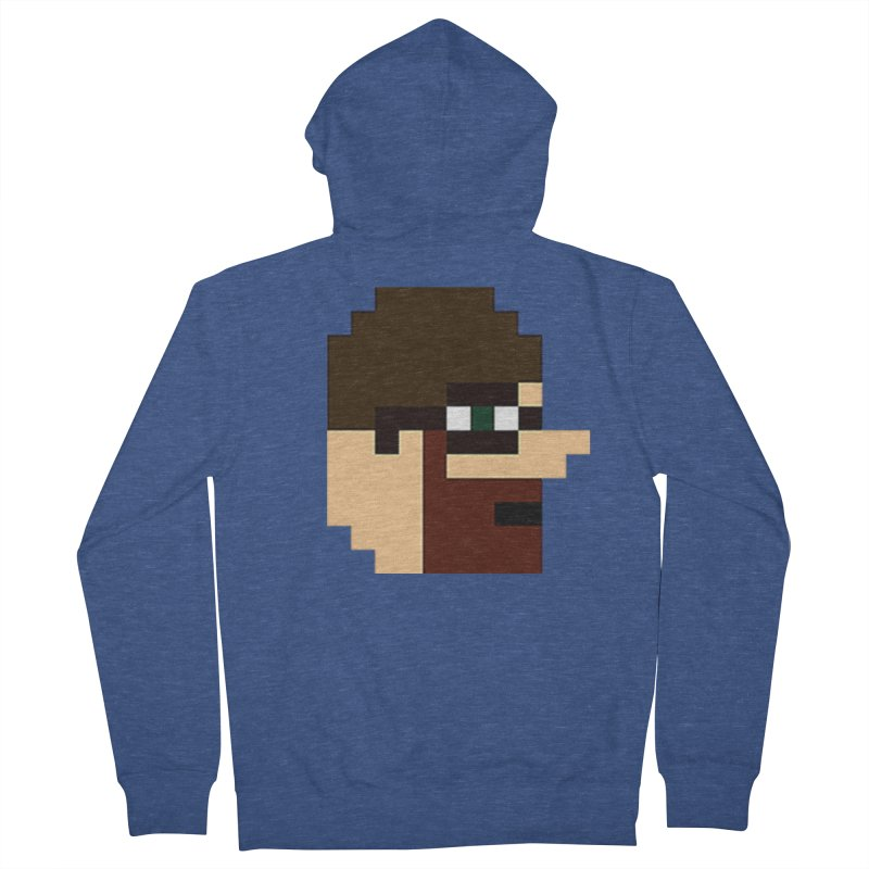 Saf Men's French Terry Zip-Up Hoody by DrinkIN GeekOUT's Artist Shop