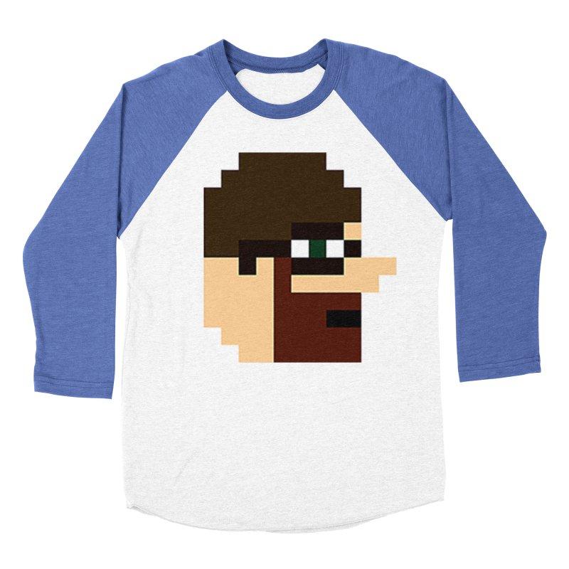 Saf Men's Baseball Triblend Longsleeve T-Shirt by DrinkIN GeekOUT's Artist Shop