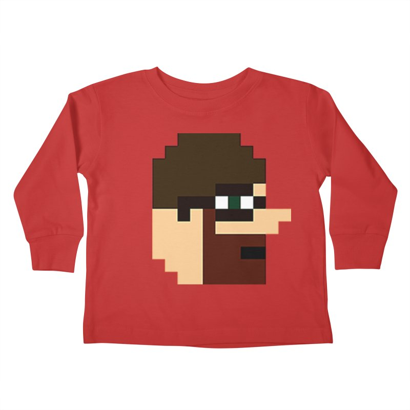 Saf Kids Toddler Longsleeve T-Shirt by DrinkIN GeekOUT's Artist Shop