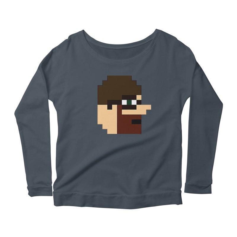 Saf Women's Scoop Neck Longsleeve T-Shirt by DrinkIN GeekOUT's Artist Shop