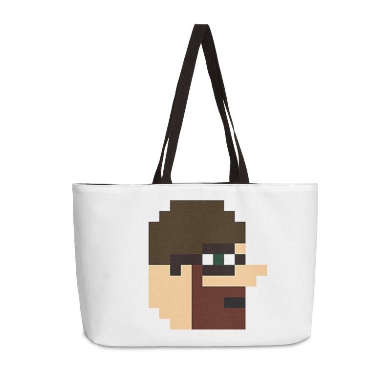 Saf Accessories Weekender Bag Bag by DrinkIN GeekOUT's Artist Shop
