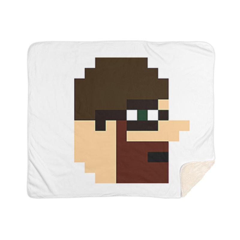 Saf Home Sherpa Blanket Blanket by DrinkIN GeekOUT's Artist Shop