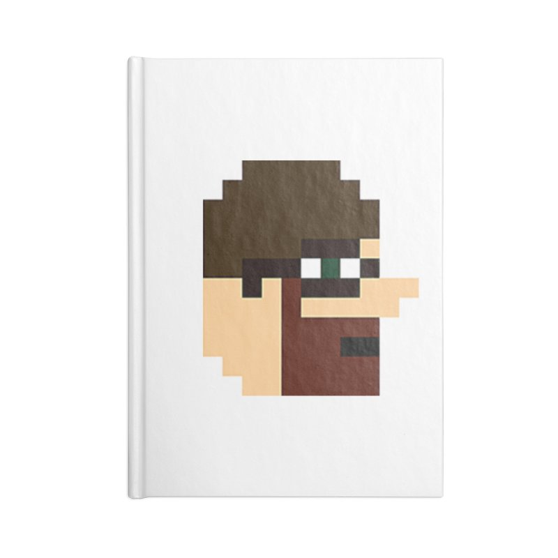 Saf Accessories Lined Journal Notebook by DrinkIN GeekOUT's Artist Shop