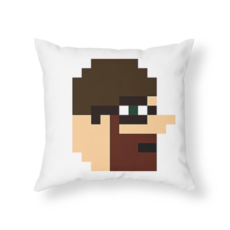 Saf Home Throw Pillow by DrinkIN GeekOUT's Artist Shop