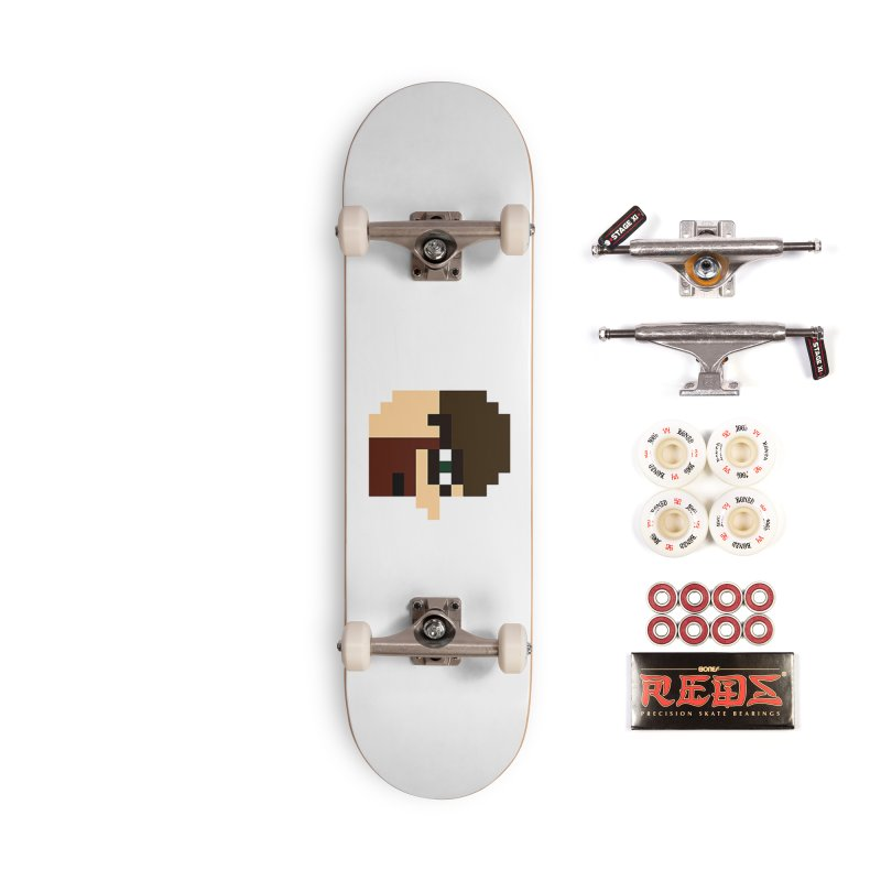 Saf Accessories Complete - Pro Skateboard by DrinkIN GeekOUT's Artist Shop