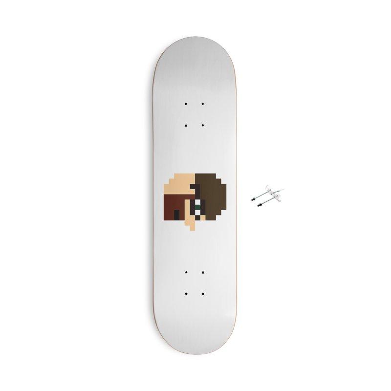 Saf Accessories Skateboard by DrinkIN GeekOUT's Artist Shop
