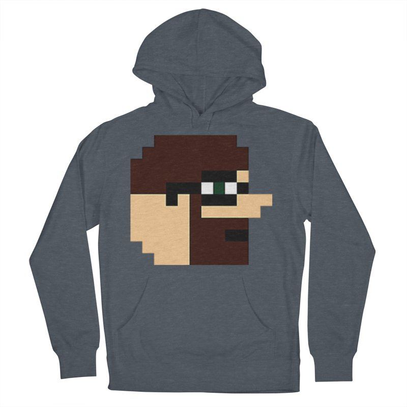 Dustin Men's French Terry Pullover Hoody by DrinkIN GeekOUT's Artist Shop