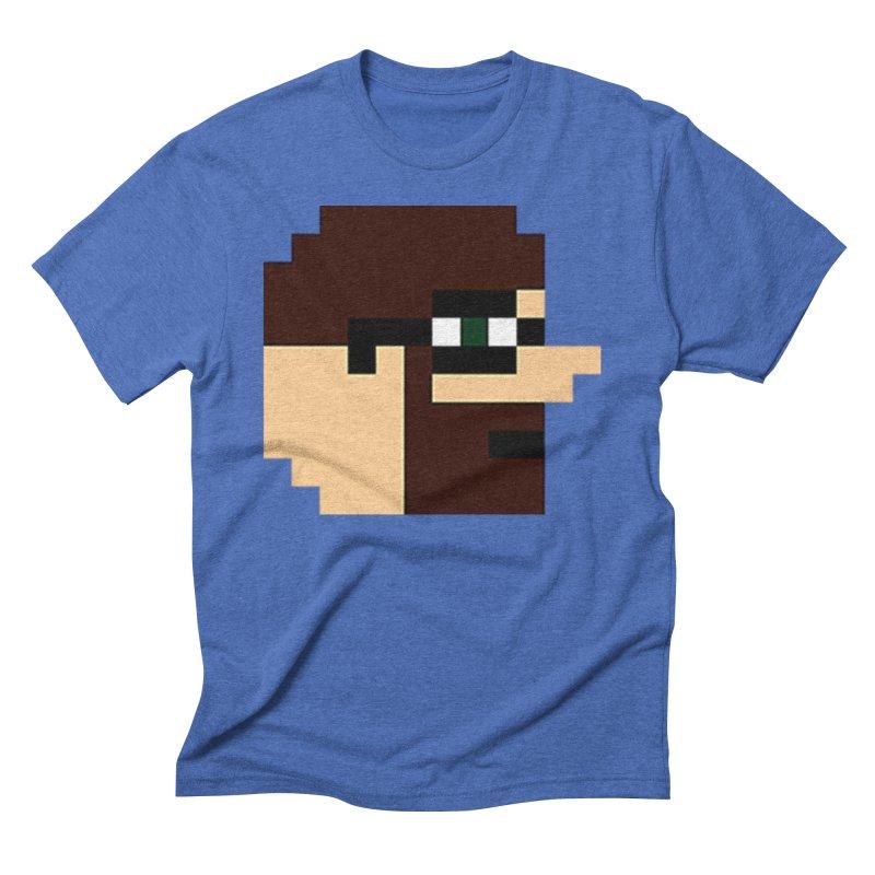 Dustin Men's Triblend T-Shirt by DrinkIN GeekOUT's Artist Shop