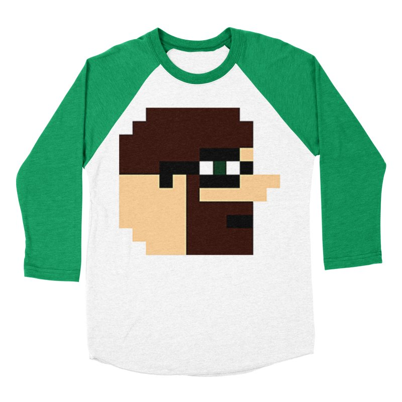 Dustin Women's Baseball Triblend Longsleeve T-Shirt by DrinkIN GeekOUT's Artist Shop