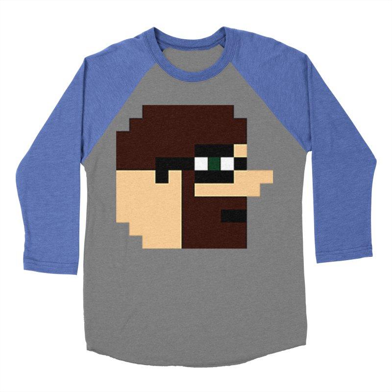 Dustin Men's Baseball Triblend Longsleeve T-Shirt by DrinkIN GeekOUT's Artist Shop